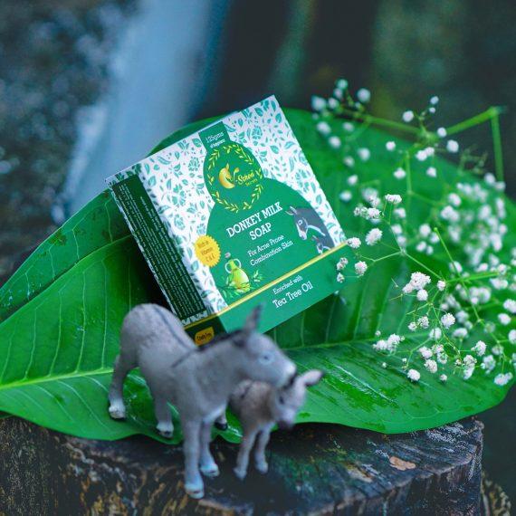 Tea Tree Donkey Milk Soap