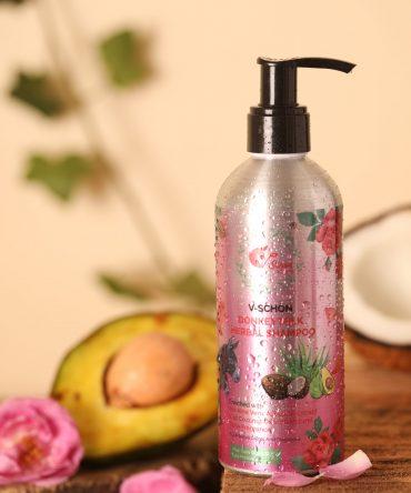 V-Schön Donkey Milk Herbal Shampoo