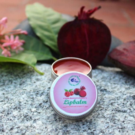 V-Schön Beetroot & Raspberry Lipbalm
